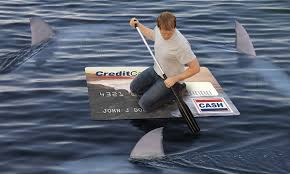 credit card sharks